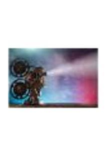 Painel Adesivo De Parede - Projetor - Cinema - 1070Pnm