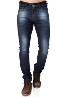 Calça Jeans Masculino Rock E Soda Azul