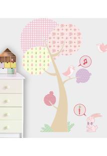 Adesivo Decorativo Stixx Bosque Menina - Rosa