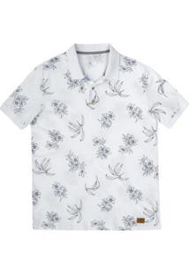 ... Camisa Polo Regular Masculina Em Malha Piquê De Algodão Estampada -21%  Hering 7100b7ca7f5f1