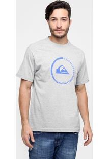 Camiseta Quiksilver Básica Circle Check - Masculino