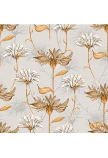 Papel De Parede Stickdecor Adesivo Floral Vintage Marrom 100Cm L X 300Cm A - Marrom - Dafiti