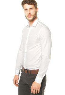 Camisa Benetton Básica Branca