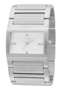 Relógio Touch Prata