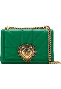 Dolce & Gabbana Bolsa Tiracolo 'Devotion' - Verde