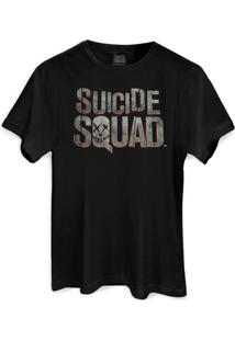 Camiseta Dc Comics Bandup! Esquadrão Suicida Logo - Masculino