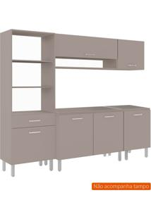 Cozinha Compacta Uccelli 6 Pt 1 Gv Bege