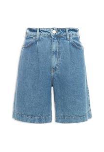 Bermuda Feminina Jeans - Azul