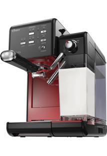 Cafeteira Prima Latte Evolution Preta/Vermelha 220V Oster
