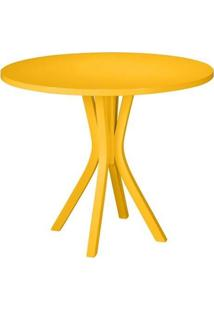 Mesa Jantar Felice - Amarelo - Tommy Design
