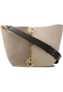See By Chloé Two Tone Shoulder Bag - Neutro
