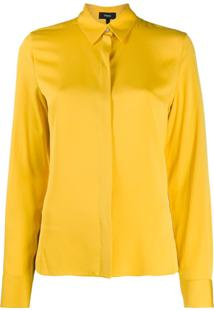 Theory Regular Fit Blouse - Amarelo
