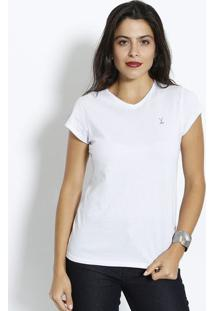 Camiseta Lisa - Brancaclub Polo Collection