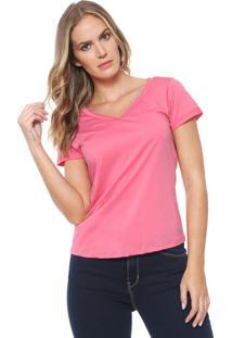 Camiseta Lez A Lez Sixty Rosa