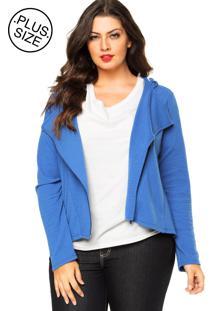 Jaqueta Rovitex Plus Textura Azul