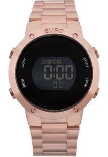 Relógio Feminino Euro Digital Sabrina Eubj3279Af/4 - Unissex-Rose Gold