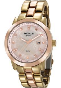 Relógio Seculus Feminino Aplause 20628Lpsvwa3