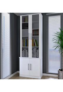 Estante Para Livros 4 Portas 12771279 Branco - Foscarini