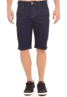 Bermuda Jeans Osmoze Middle - Masculino-Azul