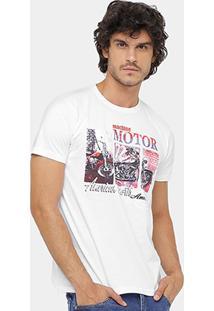 Camiseta Eagle Brasil Motor Masculina - Masculino