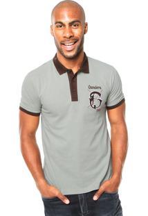 Camisa Polo Cavalera Gotic Cinza
