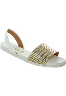 Sandalia Tiras Metalizadas Vizzano 59184018