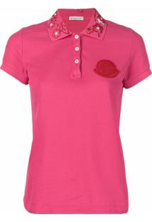Moncler Camisa Polo - Rosa
