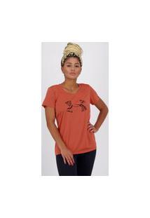Camiseta Under Armour Graphic Tech Feminina Laranja