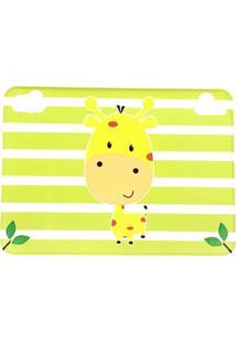 Jogo Americano Infantil Impermeável Amarelo - Girafa- Unik Toys - Tricae
