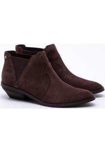 Ankle Boot Camurça Mocha
