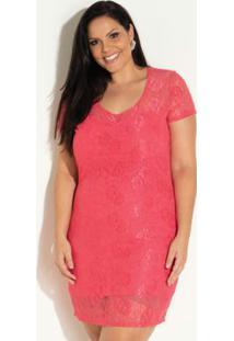 14f64b2c1 Vestido Plus Size Renda feminino | Shoelover