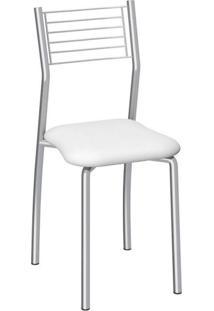 Cadeira De Aço Berlim C140 Compoarte Branco