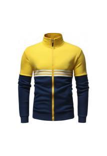 Jaqueta Masculina Strips - Amarela