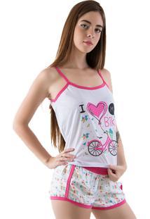 Baby Doll Linha Noite Pink - Tricae