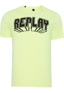 Camiseta Masculina 3D - Amarelo