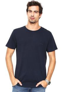 Camiseta Richards Lisa Azul-Marinho