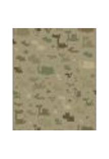 Papel De Parede Adesivo Decoração 53X10Cm Verde -W22969