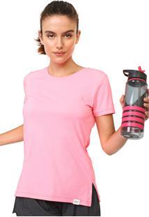 Camiseta Alto Giro Neon Rosa