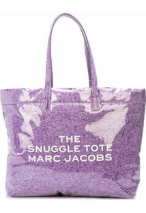 Marc Jacobs Bolsa Tote Snuggle - Roxo