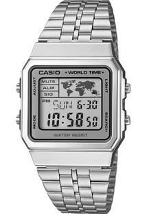 4b099b5e039 Dafiti. Relógio Feminino Casio A500wa-7df Prata