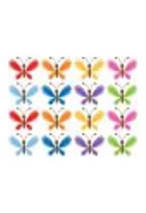 Adesivo De Parede - Borboletas Coloridas - 208In-P