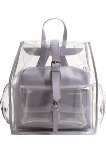 f9e4bd55f Bolsa Transparente Transversal feminina | Shoelover