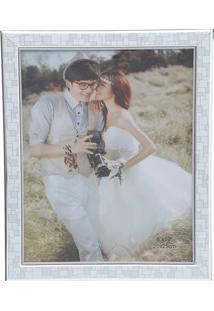 Porta Retrato 10X15 Prateado 30116 - Prestige - Cinza