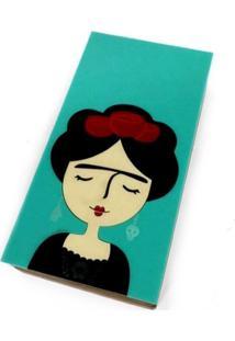 Bolsa Clutch Frida Verde - Kanui