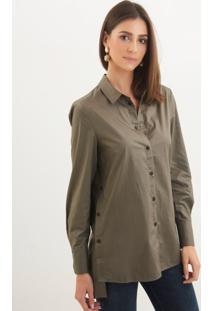 Le Lis Blanc. Camisa Le Lis Blanc Erin Verde Feminina 58b9513a88221