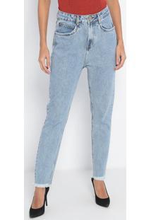 Jeans Super High Very Skinny Estonado- Azul Claro- Llança Perfume