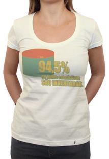 Estatísticas - Camiseta Clássica Feminina