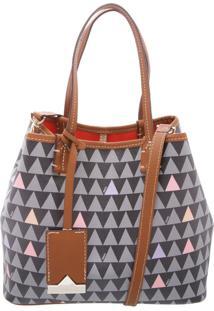 Mini Nina Triangle Black - Personalização Bag Charm | Schutz