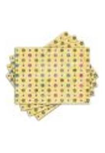 Jogo Americano - Bolinhas Com 4 Peças - 242Jo