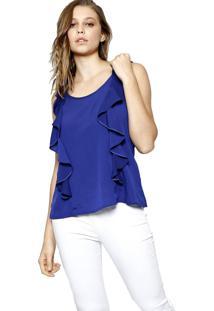 Regata Energia Fashion Azul Marinho